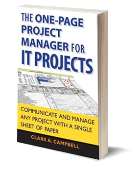 One-Page Project Manager for IT Projects Book