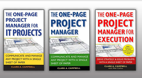 Buy One-Page Project Manager Books
